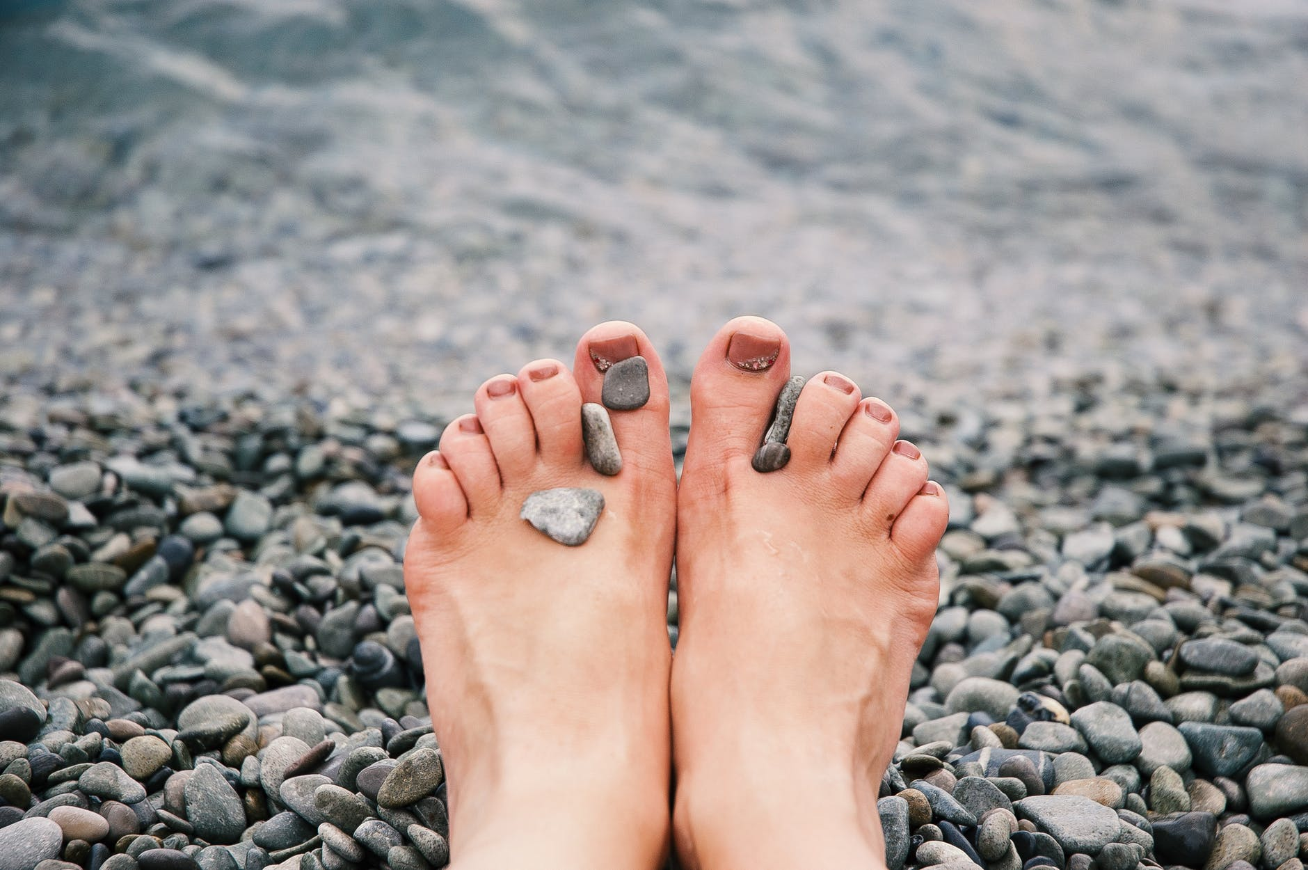 polished toes