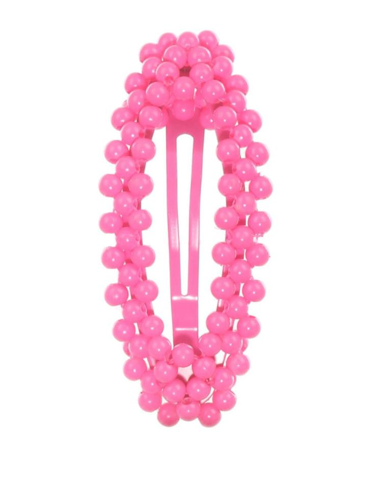 pinkhairbarette