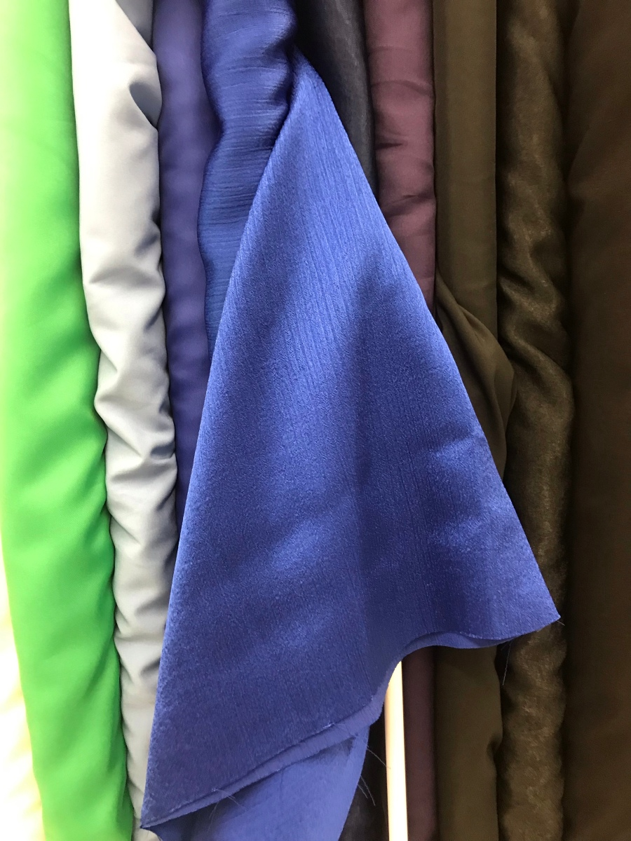 Picking fabric for a dress