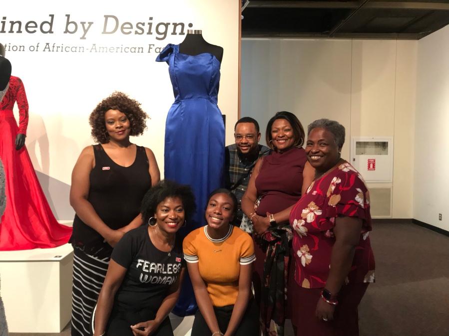 Fashion Not Fear Dress exhibit