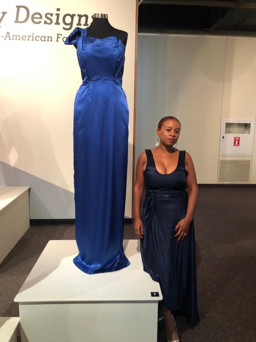 Handmade fashion not fear dress