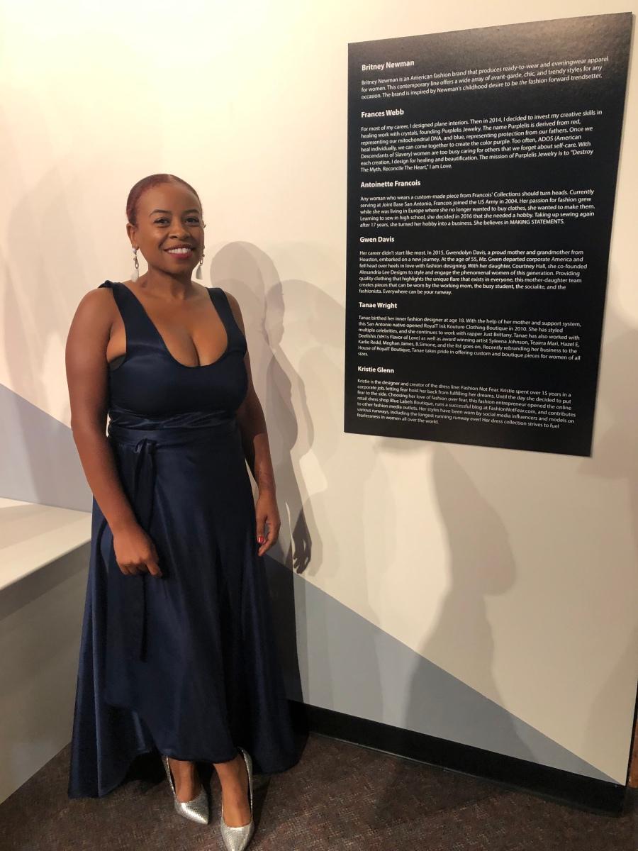 Black fashion designer