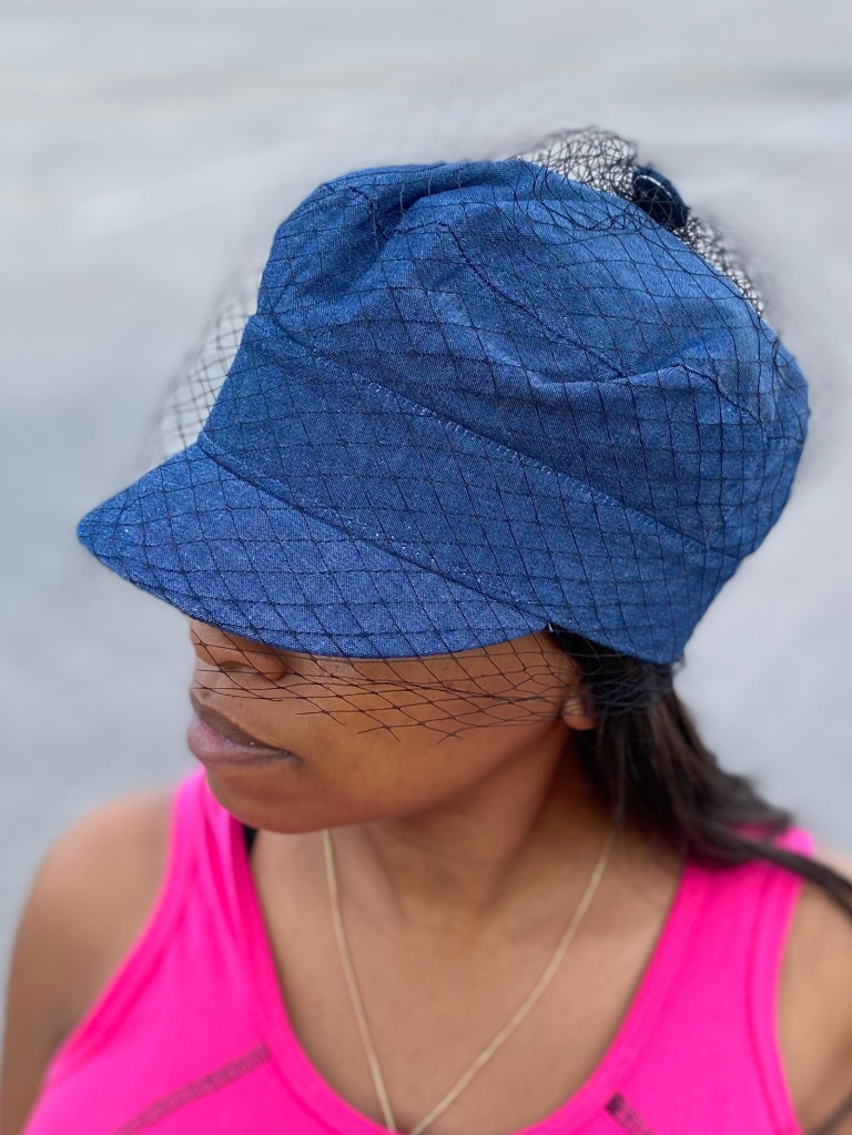 Netted hat