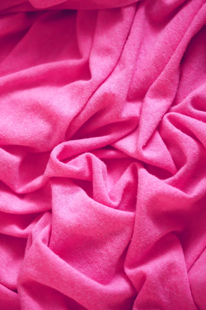 know your fabric when buying clothes online - pink fabric