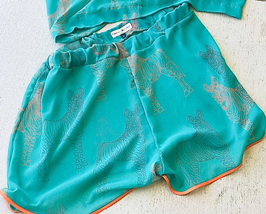 Sheer coverup shorts